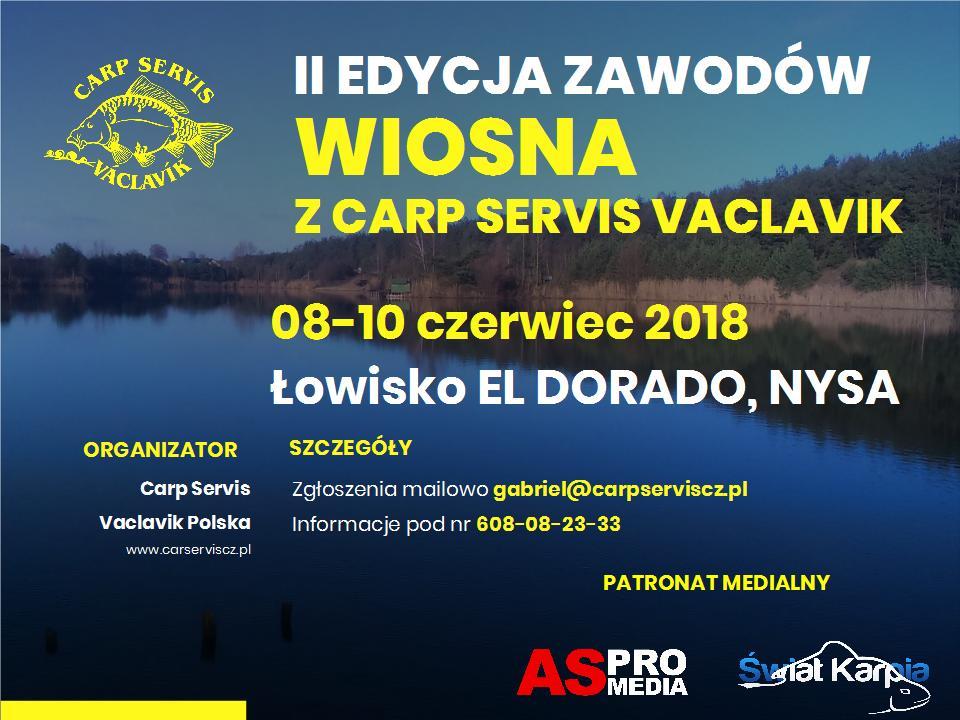 II edycja zawodów Wiosna  zCarp Servis Vaclavik